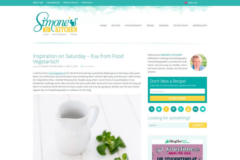 Food Vegetarisch bei SIMONE'S KITCHEN