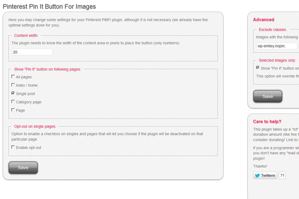 Pinterest Pin It Button For Images WordPress Plugin