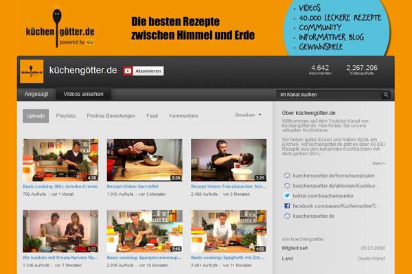 Zum Food-Channel kuechengoetter.de