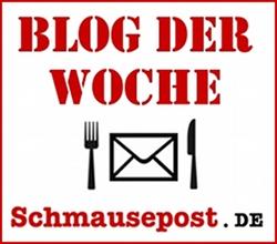 Schmausepost Blog der Woche