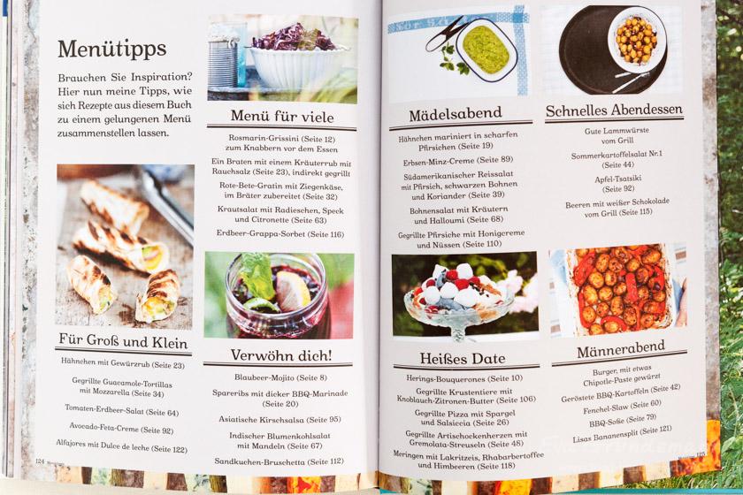 Kochbuch Rezension Grillen | Mein Grillvergnügen von Lisa Lemke