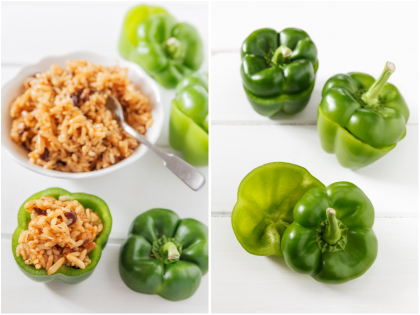 Gefüllte Paprika | food-vegetarisch.de