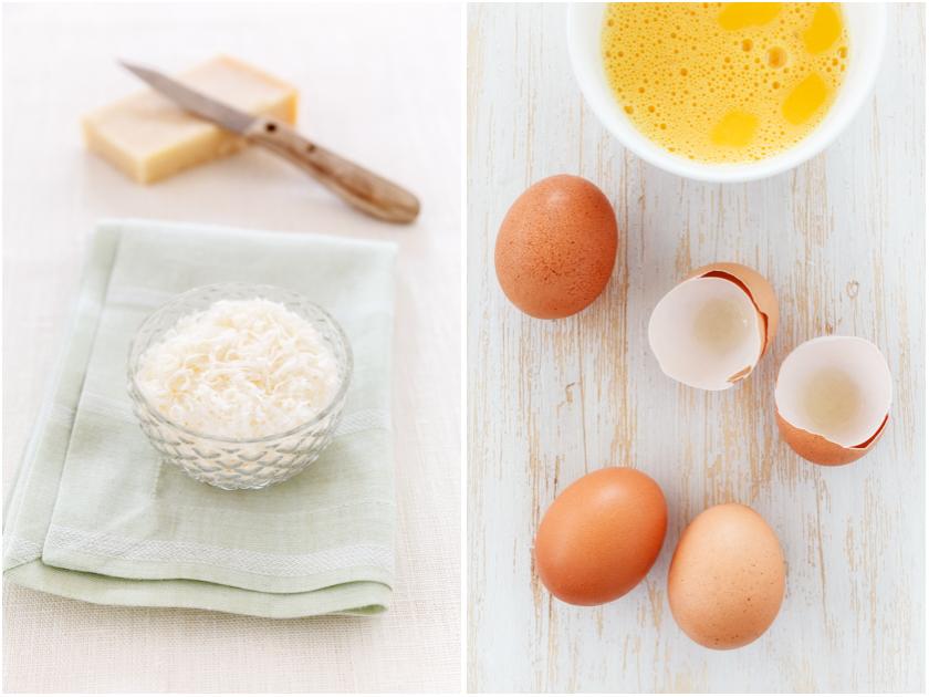 Zutaten für Blumenkohl Omelett | food-vegetarisch.de