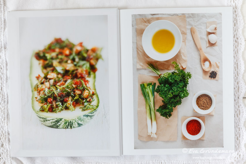 Fotobuch Test des Anbieters Saal Digital | food-vegetarisch