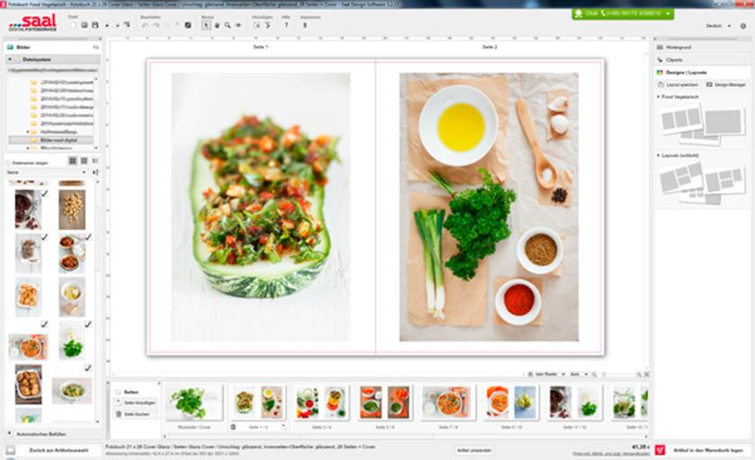 Screenshot - Fotobuch Software