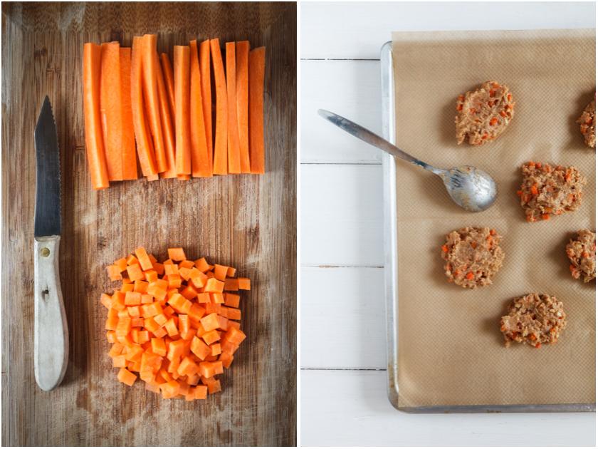 Rezept für glutenfreie Karotten-Kekse| food-vegetarisch.de
