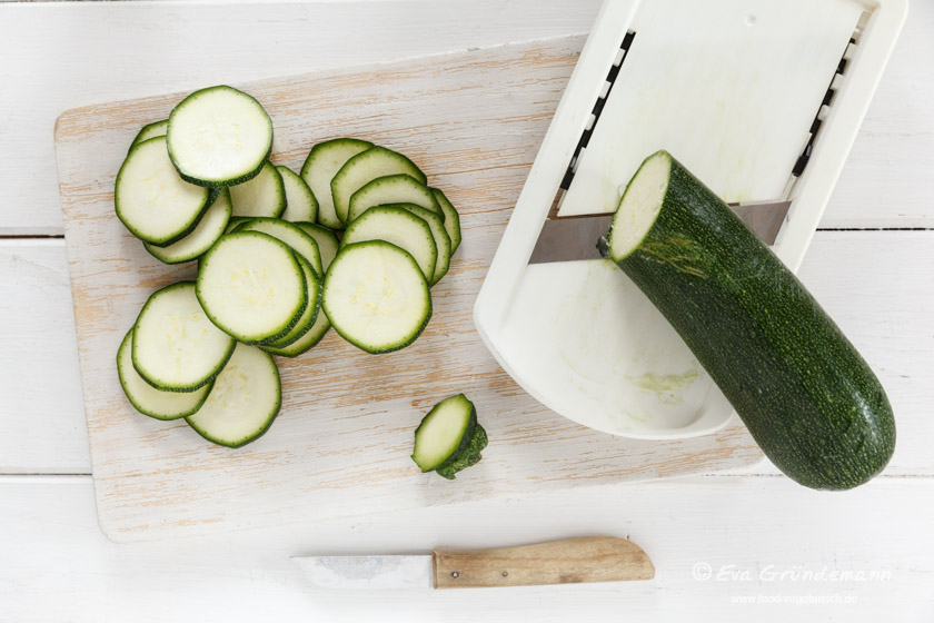 Courgette Chips | Zucchini Chips | food-vegetarisch.de