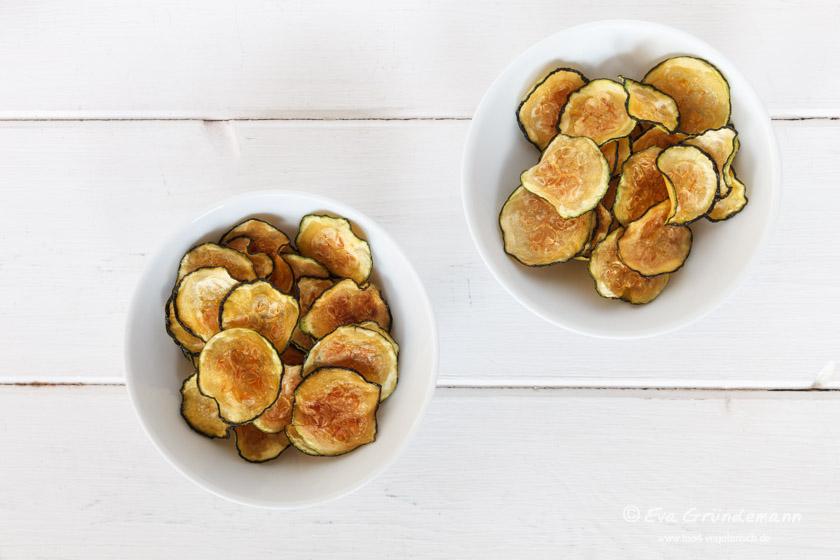 Courgette Chips | Zucchini Chips | food-vegetarisch.de