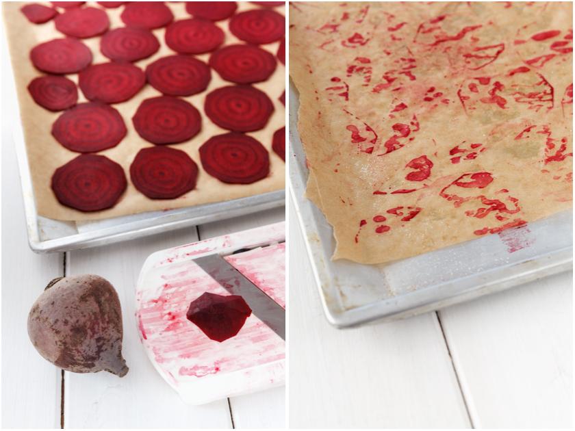 Rezept für Rote Bete Chips | food-vegetarisch.de