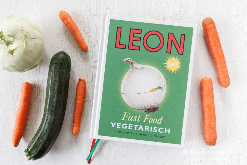 Buchrezension | LEON Fast Food. Vegetarisch