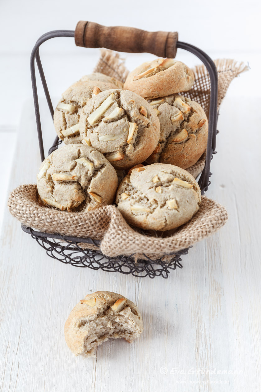 Rezept für glutenfreie Buchweizenbrötchen | food-vegetarisch