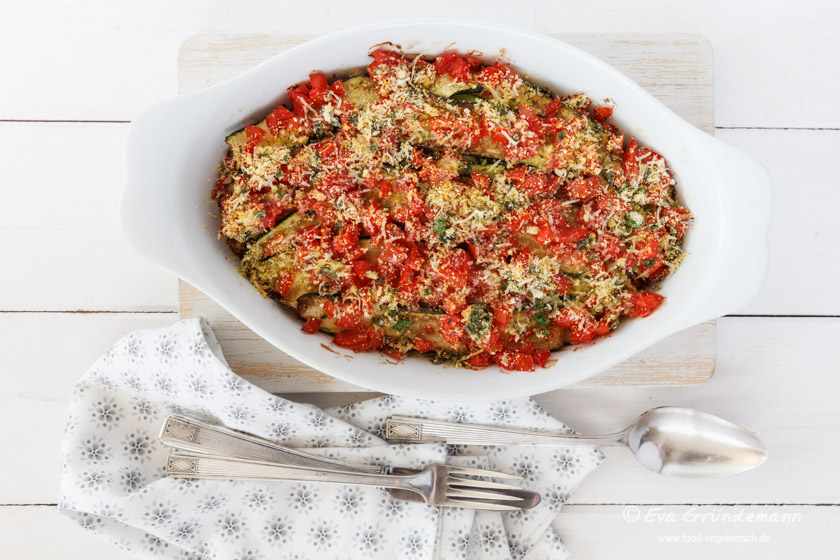 Zucchini-Tomaten-Gratin | food-vegetarisch.de