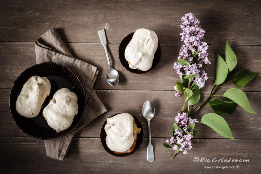 Glutenfree Rhubarb Pie with Buckwheat | Glutenfreier Rhabarber Kuchen mit Buchweizen | food-vegetarisch.de