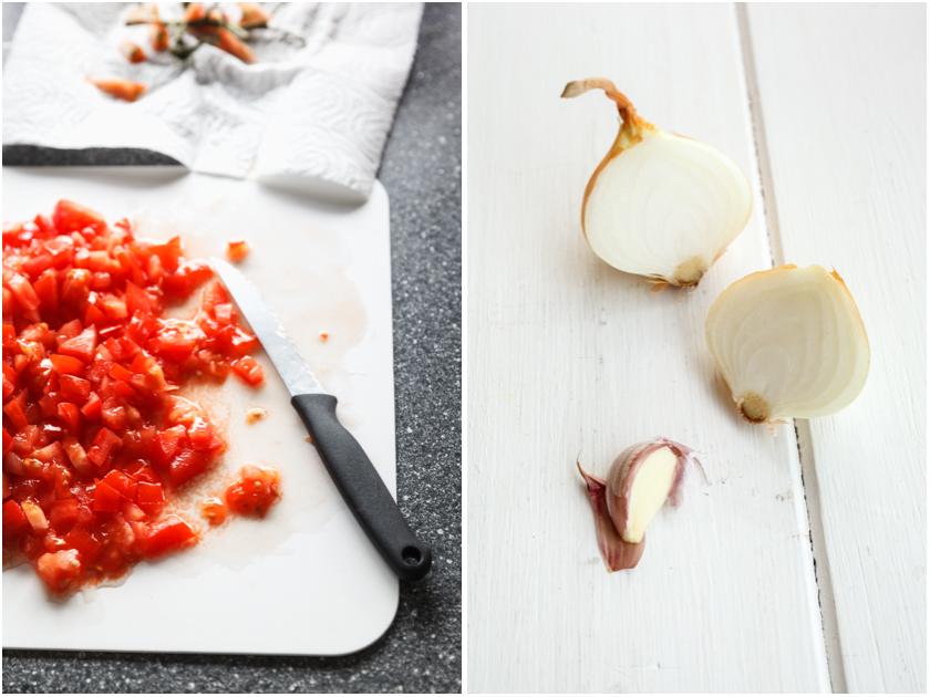 Tomatoes and Onions | Tomaten und Zwiebeln | food-vegetarisch.de