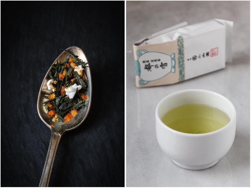 Grüner Tee der Sorte Genmaicha | food-vegetarisch.de