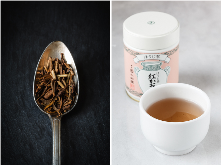 Grüner Tee der Sorte Hojicha | food-vegetarisch.de
