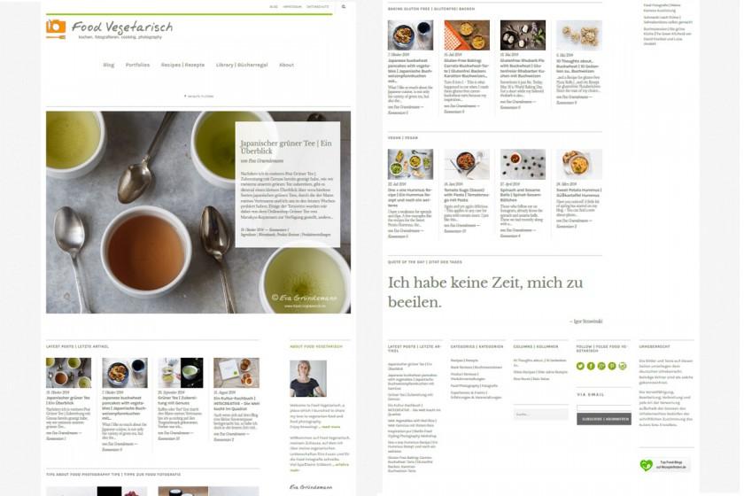 Neues Blog-Design | food-vegetarisch.de