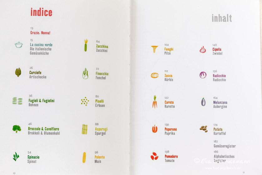 La cucina verde - ein vegetarisches Kochbuch | Rezension auf food-vegetarisch.de