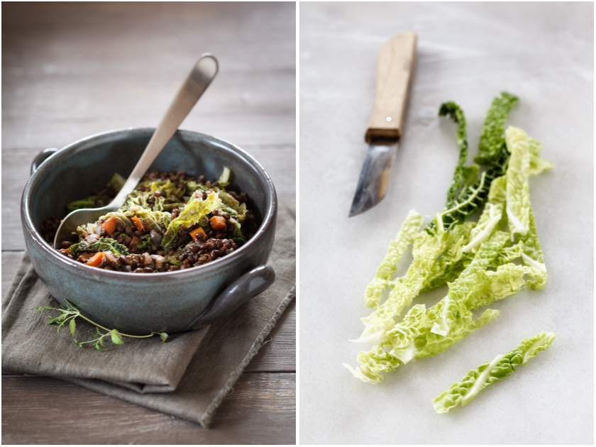 Linsen mit Wirsing Rezept | food-vegetarisch.de
