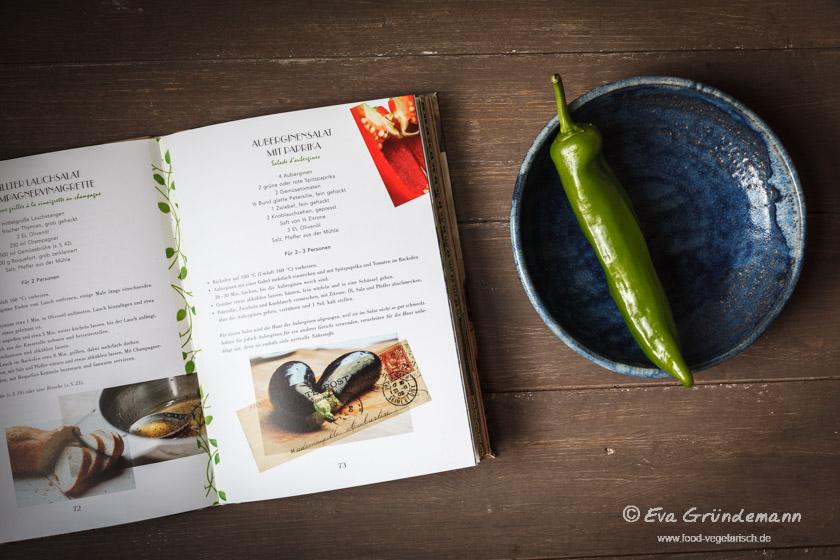 La cuisine verte - ein vegetarisches Kochbuch