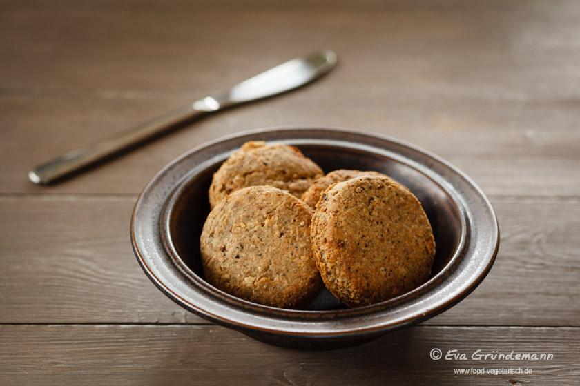 Oatmeal Scones   Haferflocken Scones   food-vegetarisch.de