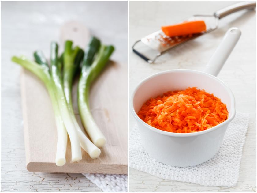 Karotten und Lauchzwiebeln | food-vegetarisch.de