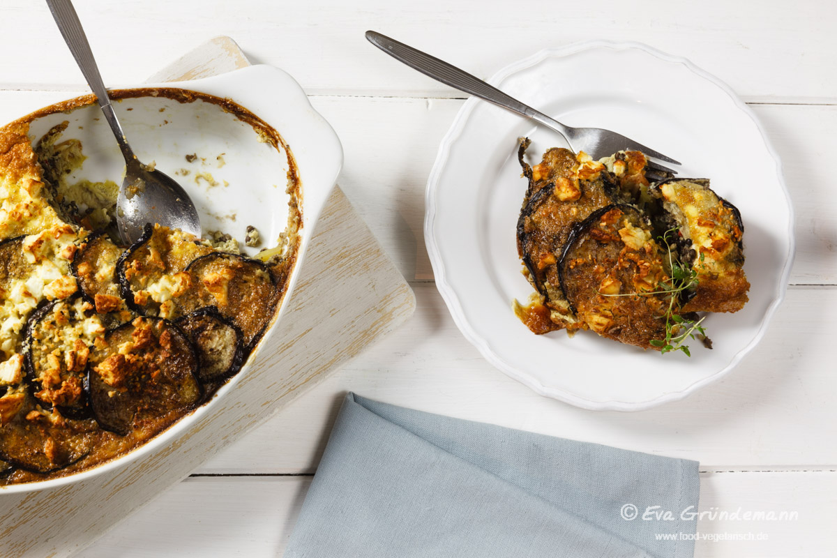 Vegetarian Moussaka With Lentils