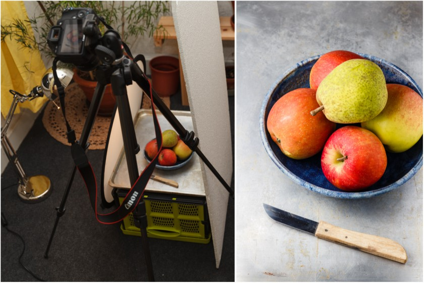 Food Fotografie mit Kunstlicht | food-vegetarisch.de
