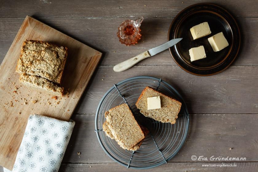 Rezept für glutenfreies Brot | food-vegetarisch.de