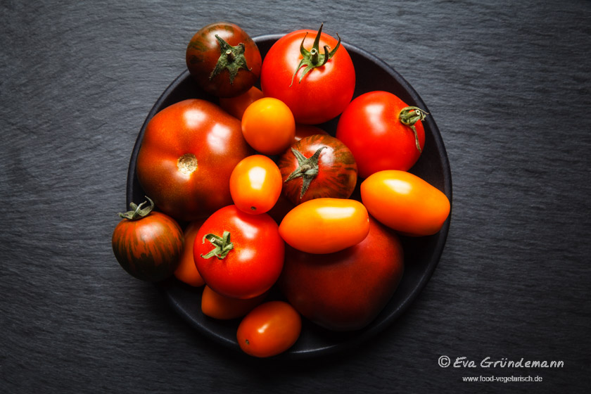 Tomatensorten || FOOD VEGETARISCH