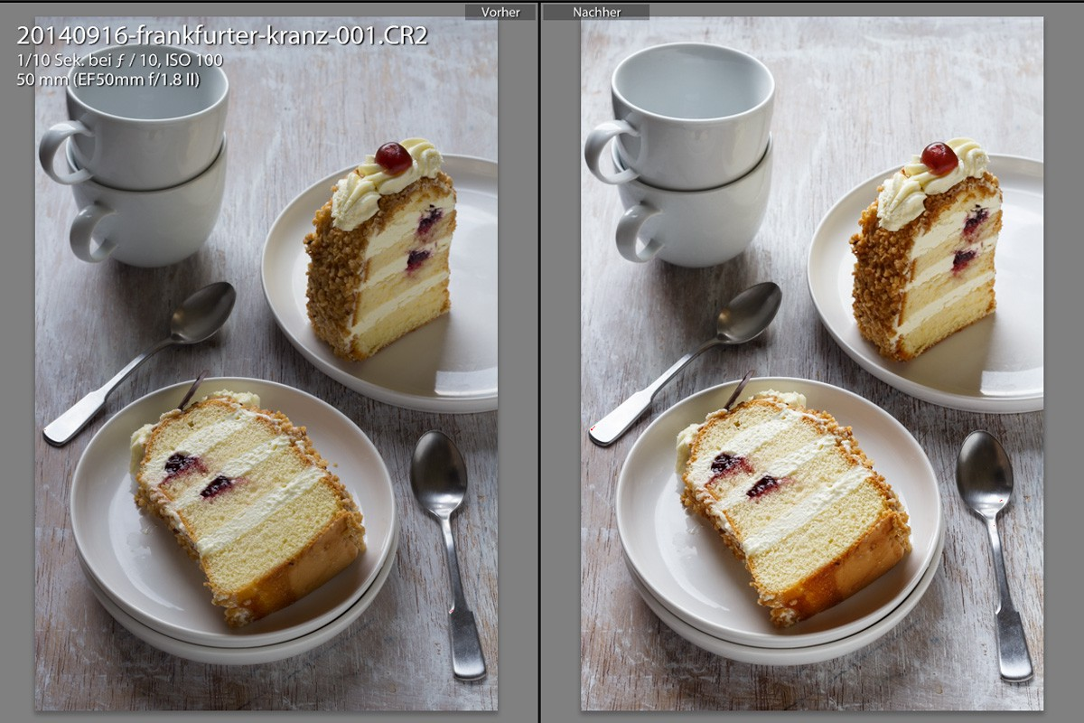 Lightroom Tutorial Food Fotografie | food-vegetarisch.de