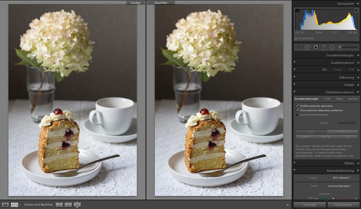 Lightroom Tutorial Food Fotografie   food-vegetarisch.de