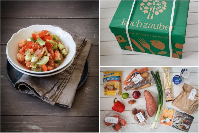 Ausprobiert | Balsamico-Linsensalat und die Kochzauber Veggie Box | food-vegetarisch.de