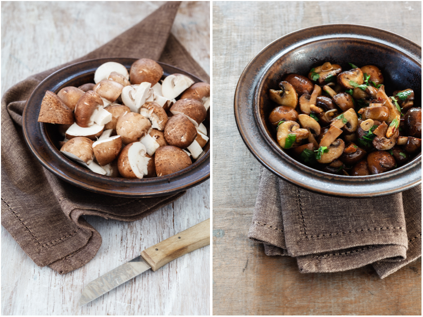 Rezept für gebratene Champignons | food-vegetarisch.de