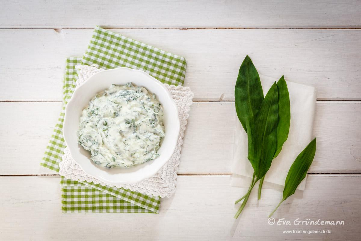 Rezept Bärlauch-Quark | food-vegetarisch.de