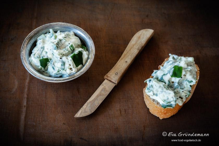 Rezept für Bärlauch-Quark | food-vegetarisch.de