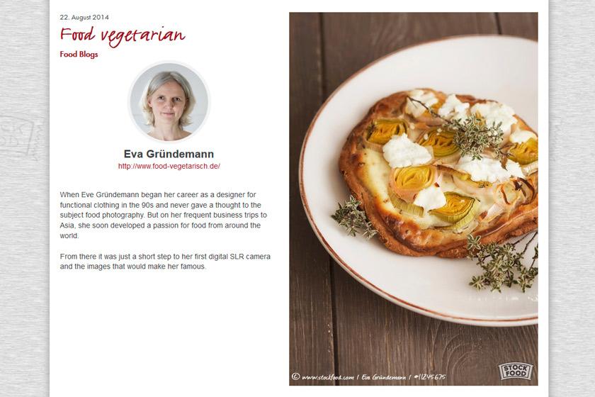 Food Vegetarisch auf dem StockFood Blog