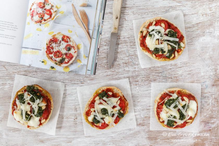 Pita Margherita | food-vegetarisch.de