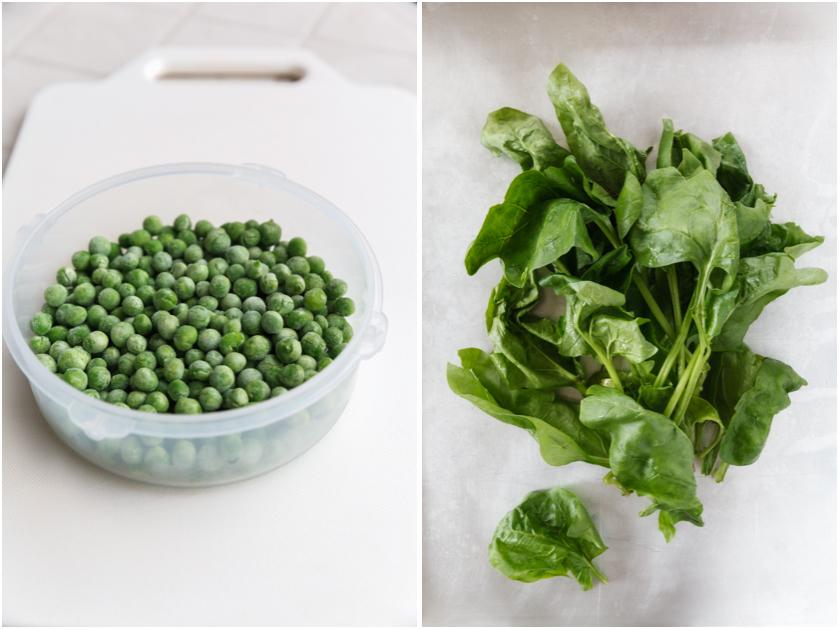 Erbsen / Spinat | food-vegetarisch.de
