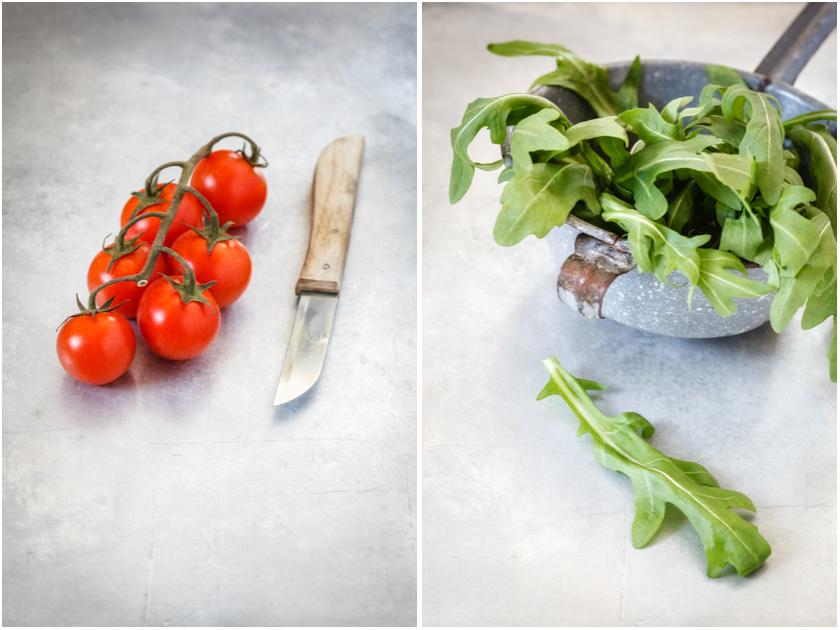 Kirschtomaten und Rucola | food-vegetarisch.de