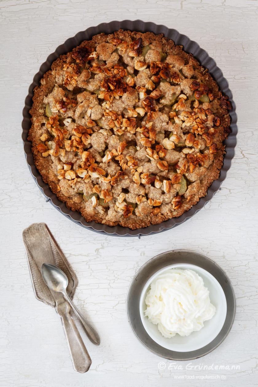 2015Rhabarberkuchen mit Streuseln | food-vegetarisch.de