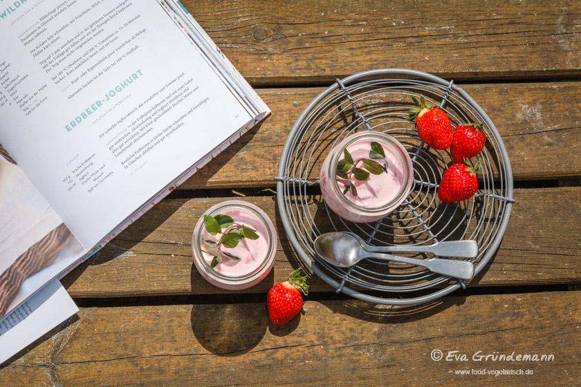 Erdbeer-Joghurt | food-vegetarisch.de