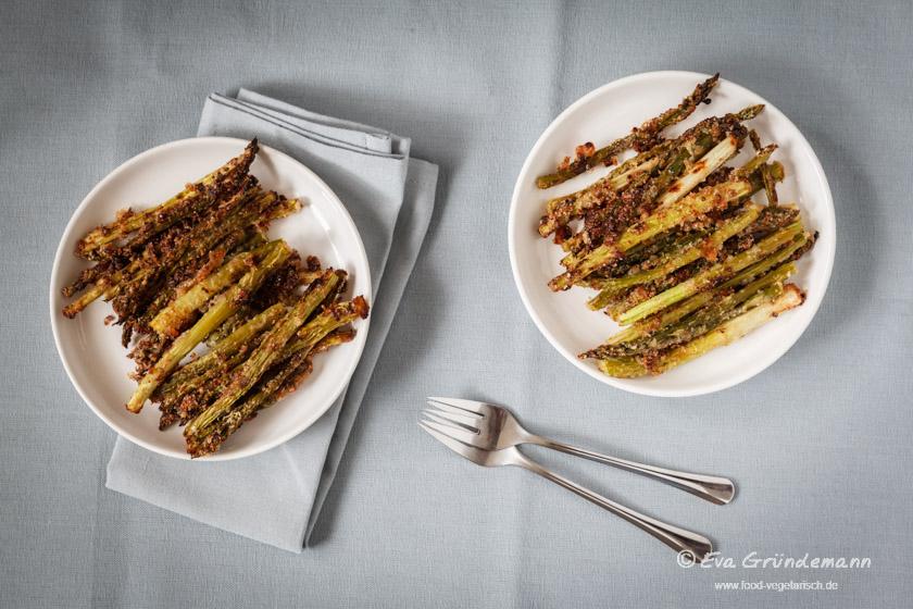 Rezept für Spargel-Fritten | food-vegetarisch.de