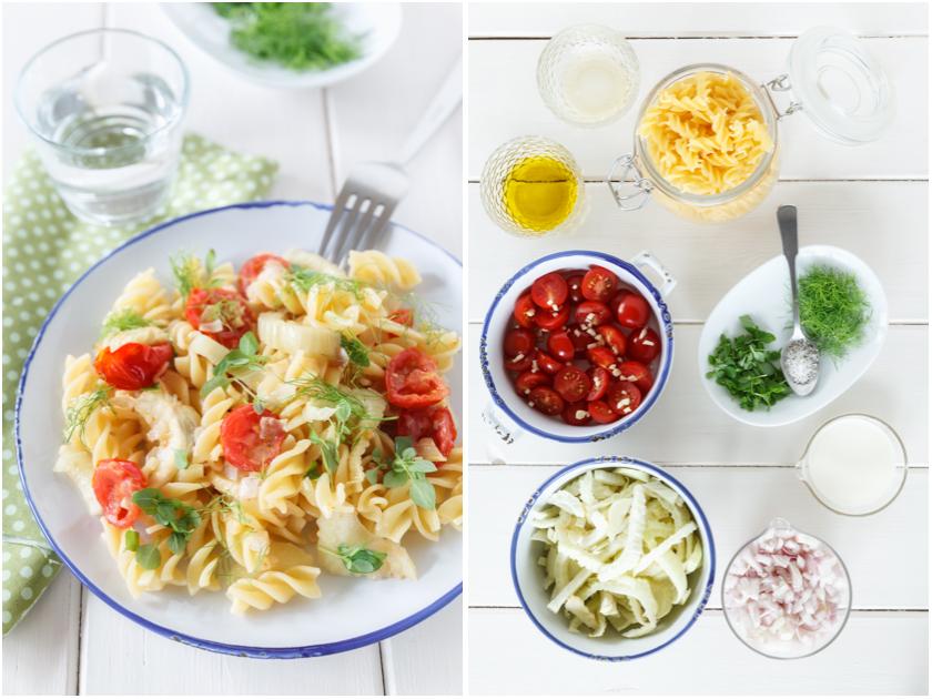 Fusilli mit Fenchel und Tomaten | food-vegetarisch.de
