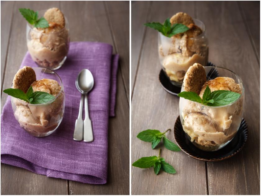 Schnelles Bananen-Joghurt-Eis mit Zimt | food-vegetarisch.de