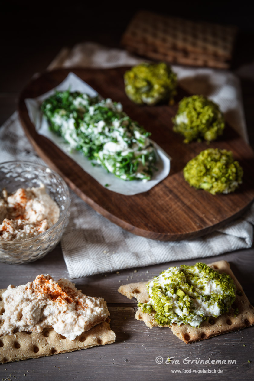 Veganer Cashew-Frischkäse | food-vegetarisch.de