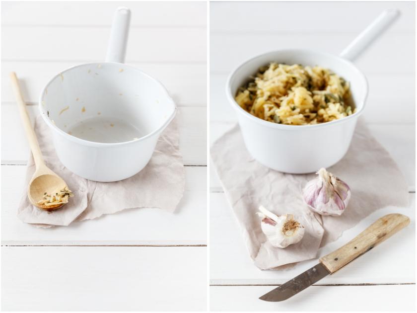 Zubereitung von Salbei-Rösti | food-vegetarisch.de
