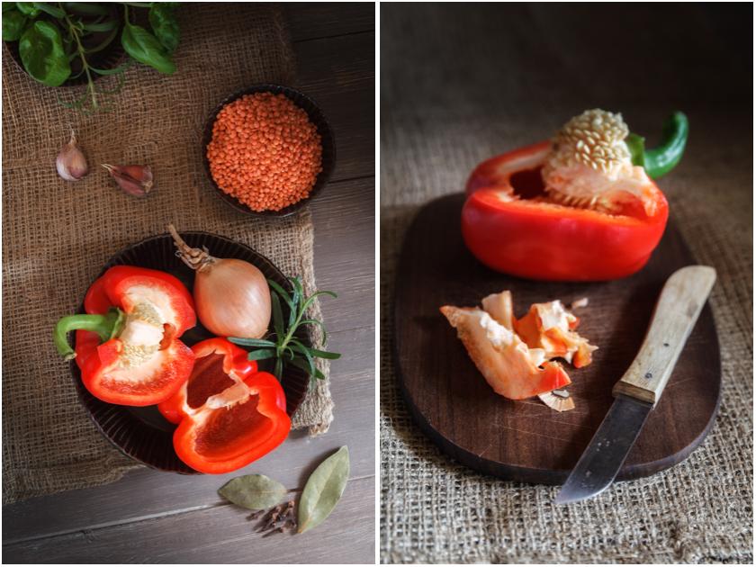 Zutaten für Ägyptische Linsensuppe | food-vegetarisch.de