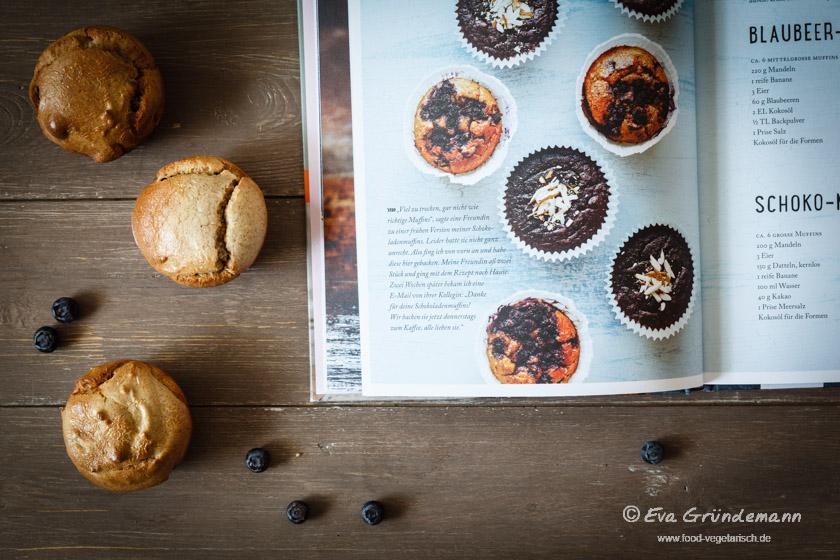 Blaubeer-Muffins | food-vegetarisch.de