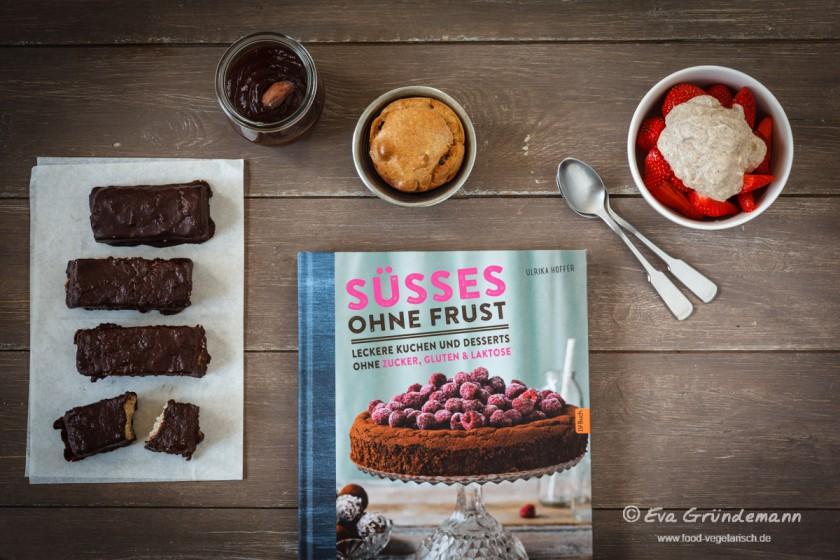 """Buchvorstellung """"Süsses ohne Frust"""" - Leckere Kuchen und Desserts ohne Zucker, Gluten & Lactose"""